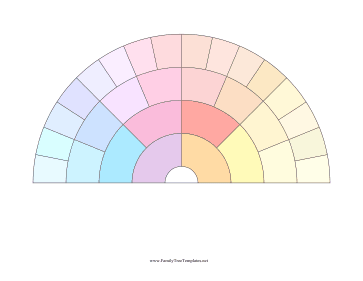5-Generation Fan Color Template