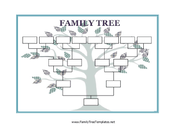 Family tree template blank family tree template pronofoot35fo Gallery