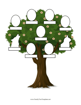 Family Tree With Pets Template