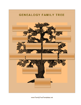 Genealogy Tree Template