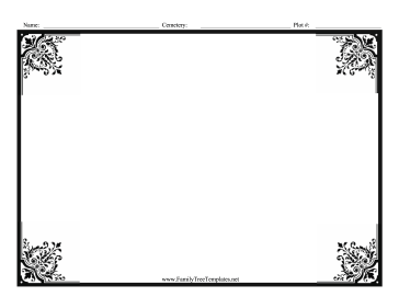 image relating to Tombstone Printable referred to as Gravestone Rubbing Template