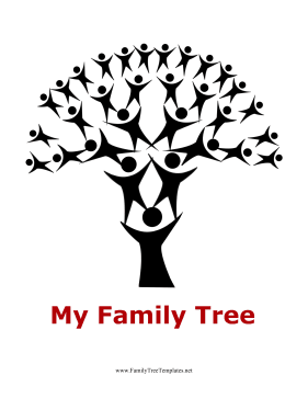 Human Tree 5 Generation Template